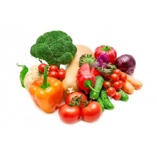 Raw Fruits and Vegetables Cooking Time & Temperature